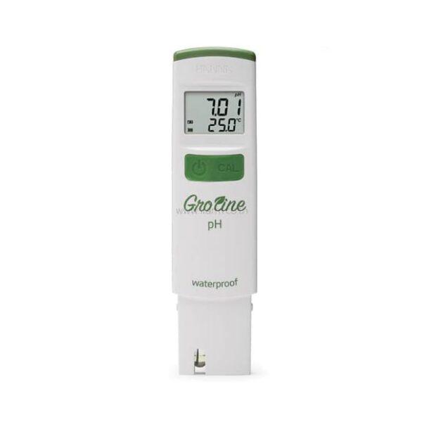เครื่องวัดค่า pH น้ำ GroLine Hanna HI98118